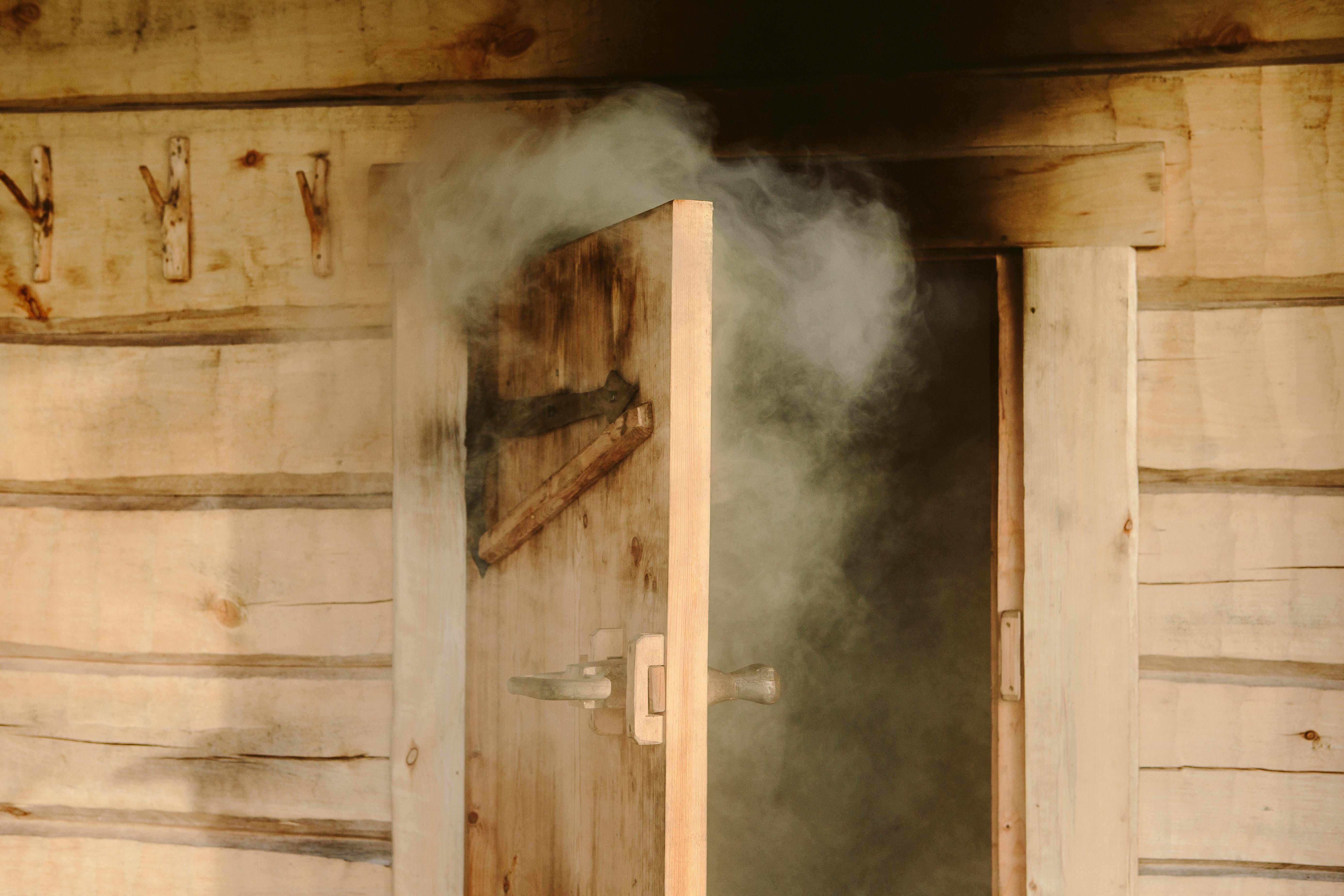 savusaunan lämmitys